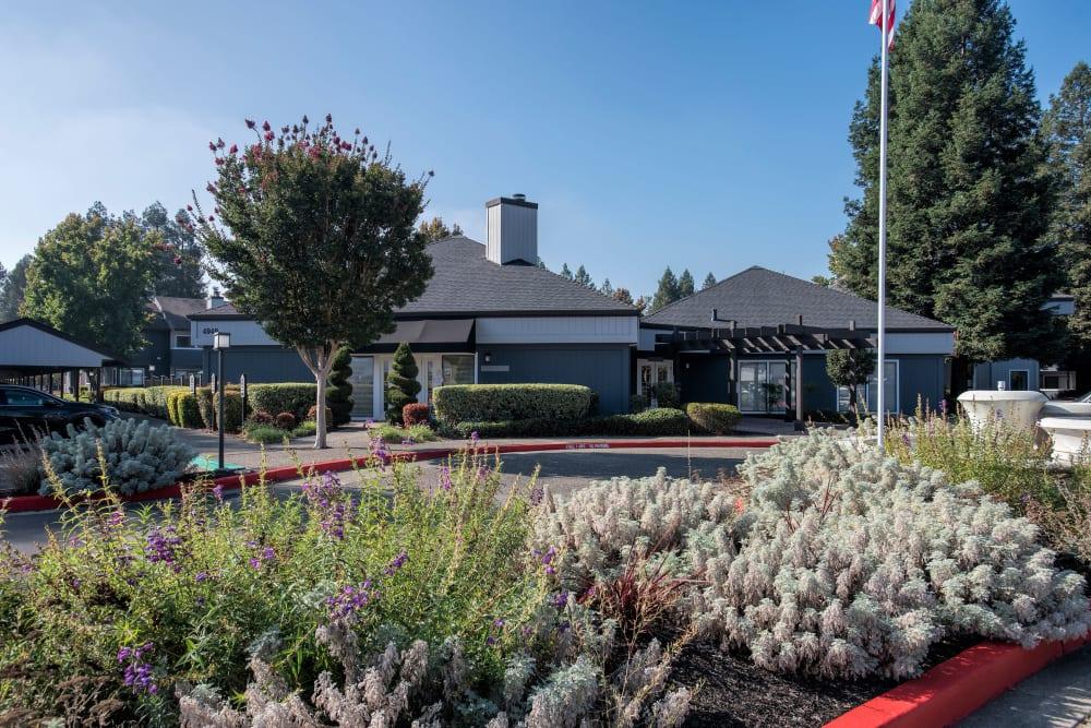 Leasing office at Park Ridge Apartment Homes in Rohnert Park, California