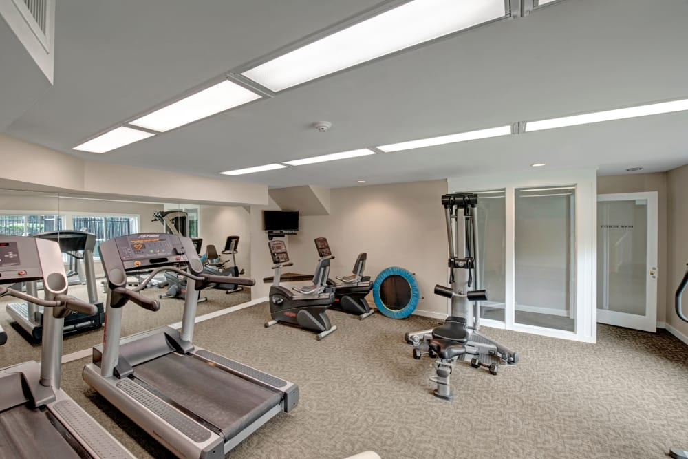 State-of-the-art fitness center at West Springfield Terrace in Springfield, Virginia