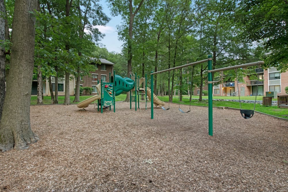 Playground at West Springfield Terrace in Springfield, Virginia