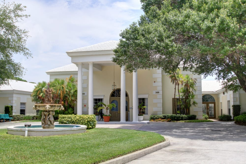 Main entrance to Truewood by Merrill, Bradenton in Bradenton, Florida.