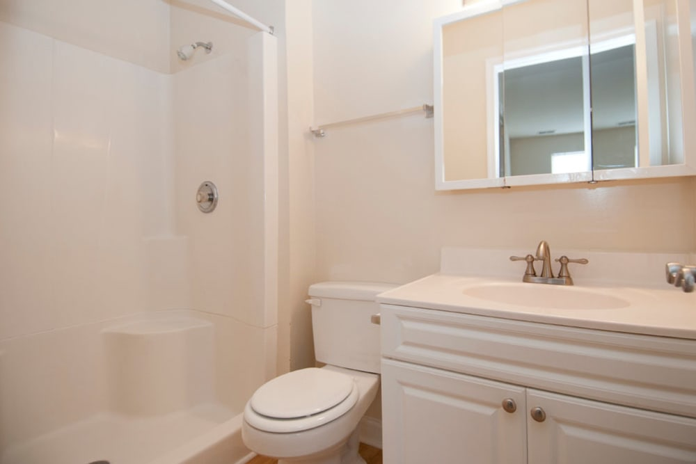 Bathroom at Brookside View in Gaithersburg, Maryland