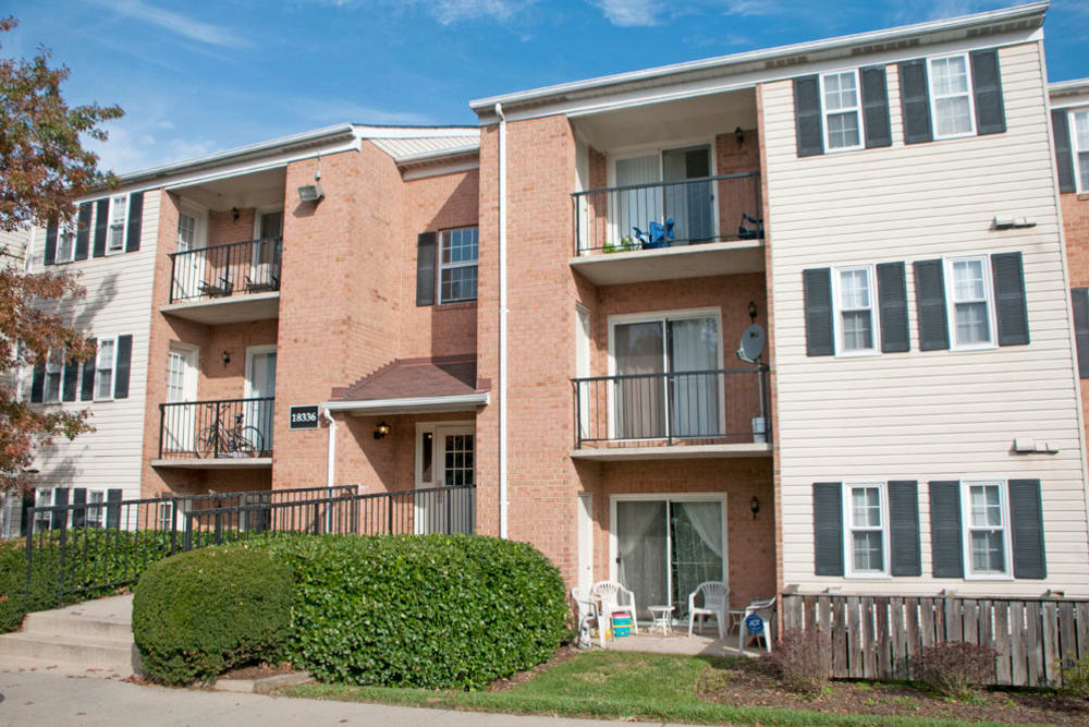 Exterior of Brookside View in Gaithersburg, Maryland