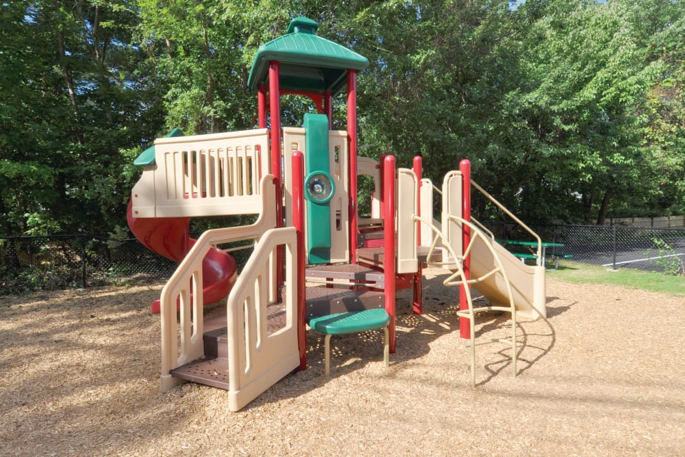 Onsite playground at Middlesex Crossing in Billerica, Massachusetts