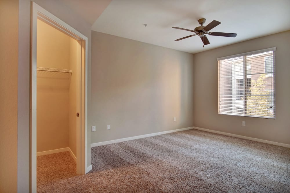 Bedroom at Apartments in Henderson, Nevada