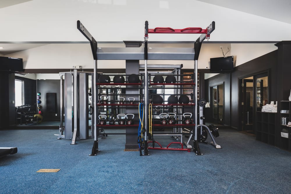Gym at Sunchase at James Madison in Harrisonburg, Virginia