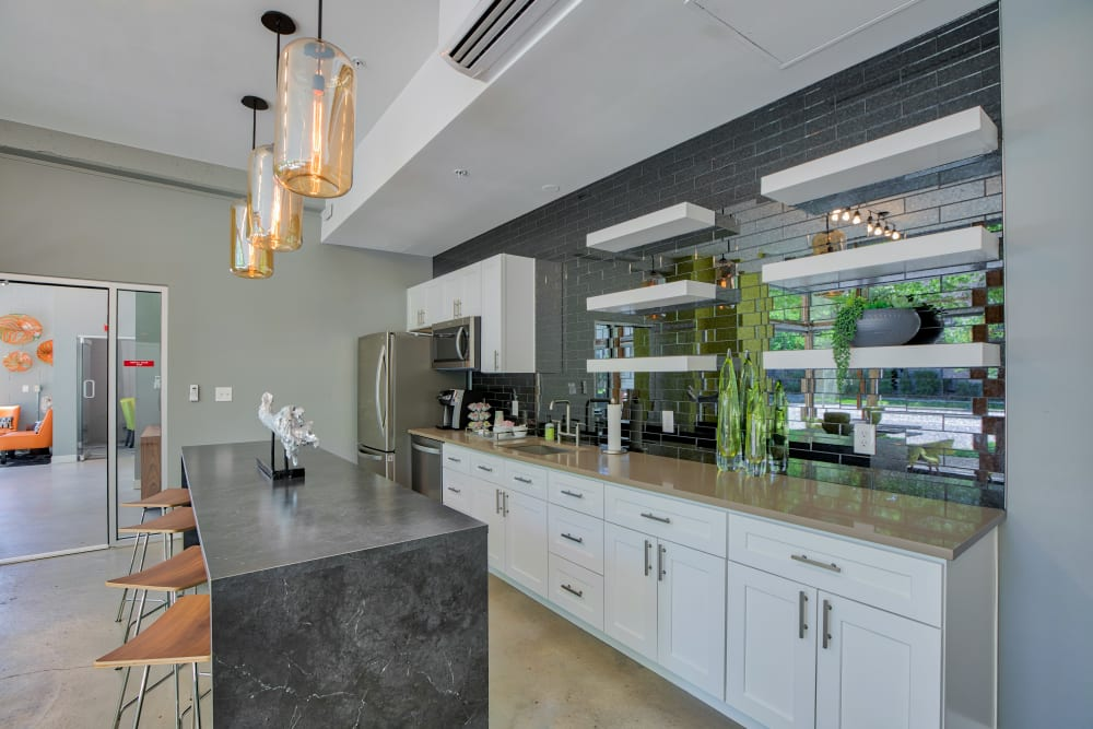 Enjoy Apartments with a Modern Clubhouse at Downtown Belmar Apartments