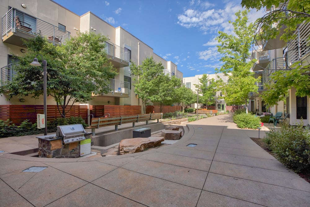 Our Apartments in Lakewood, Colorado have an Outdoor BBQ Area
