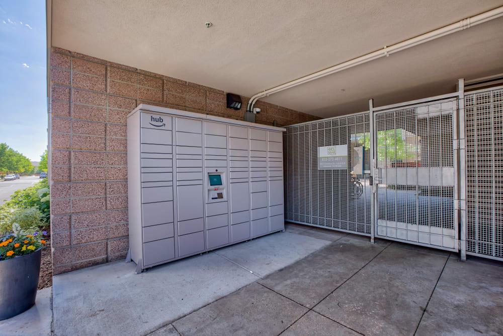Package Lockers at Downtown Belmar Apartments in Lakewood, Colorado