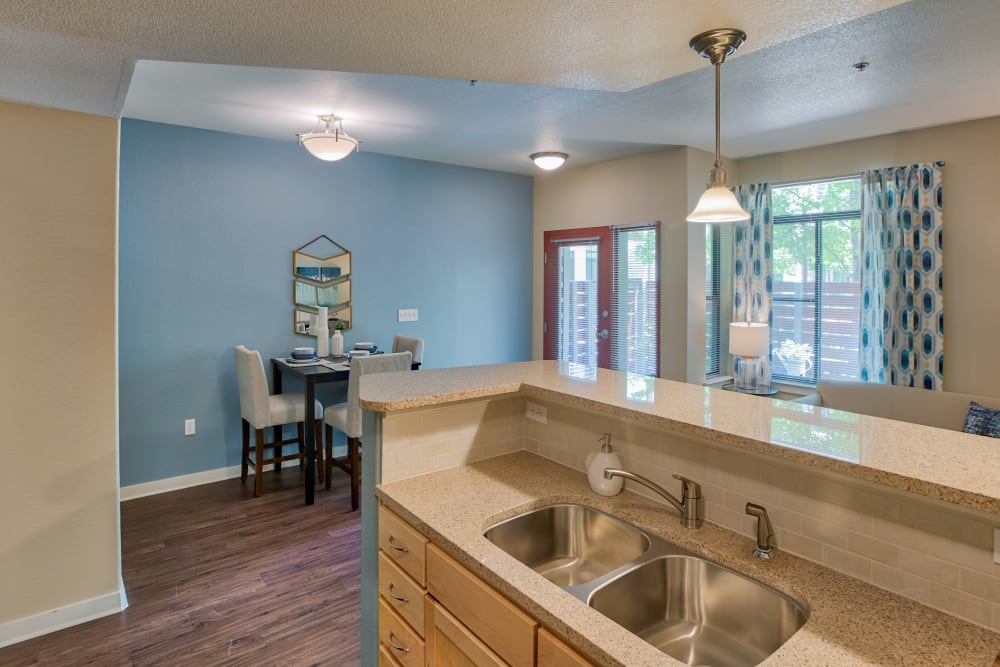 Kitchen & Dining Area at Apartments in Lakewood, Colorado