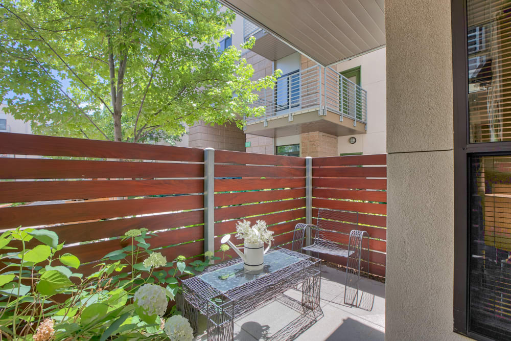 Apartments with a Private Patio in Lakewood, Colorado