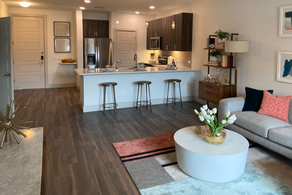 Spacious layout at The District at Chandler in Chandler, Arizona