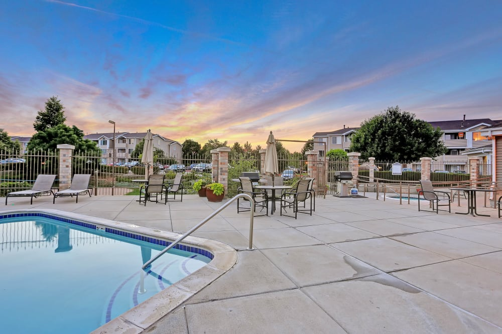 Swimming Pool at Pavilions at Silver Sage in Fort Collins, Colorado