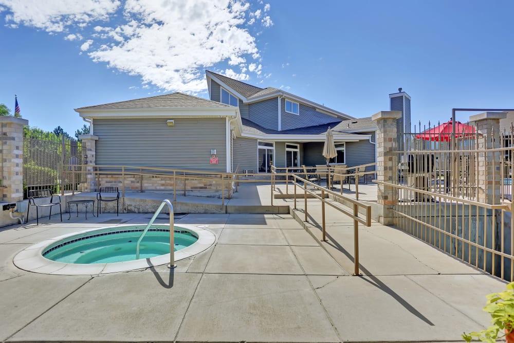 Enjoy Apartments with a Hot Tub at Pavilions at Silver Sage
