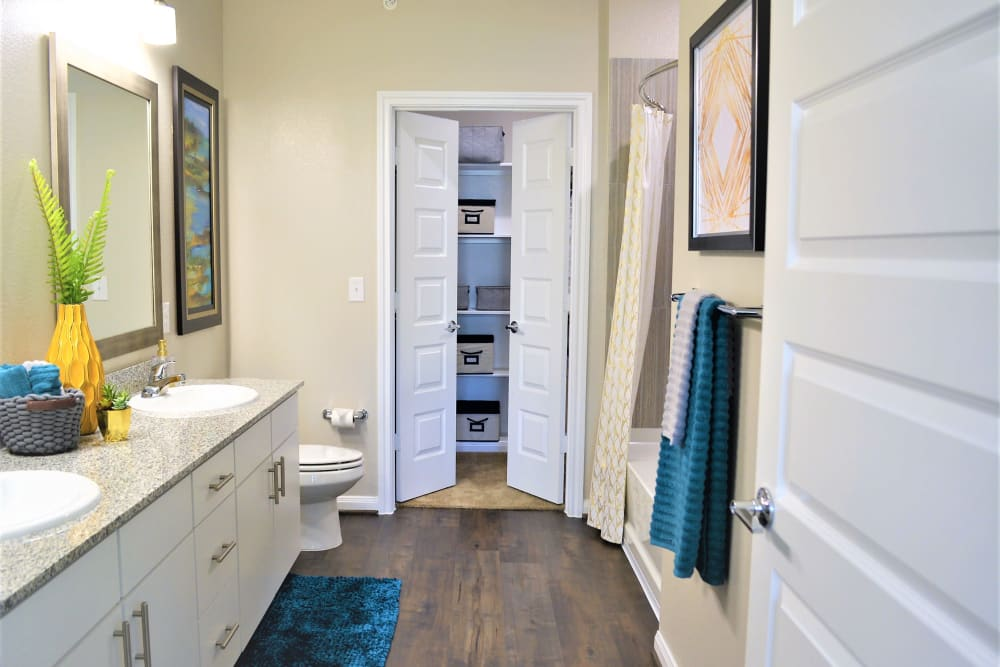Our Apartments in San Antonio, Texas offer a Bathroom