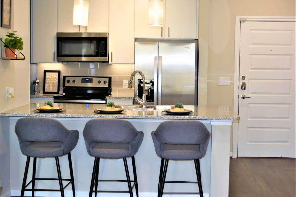 The Abbey at Sonterra offers a Kitchen in San Antonio, Texas