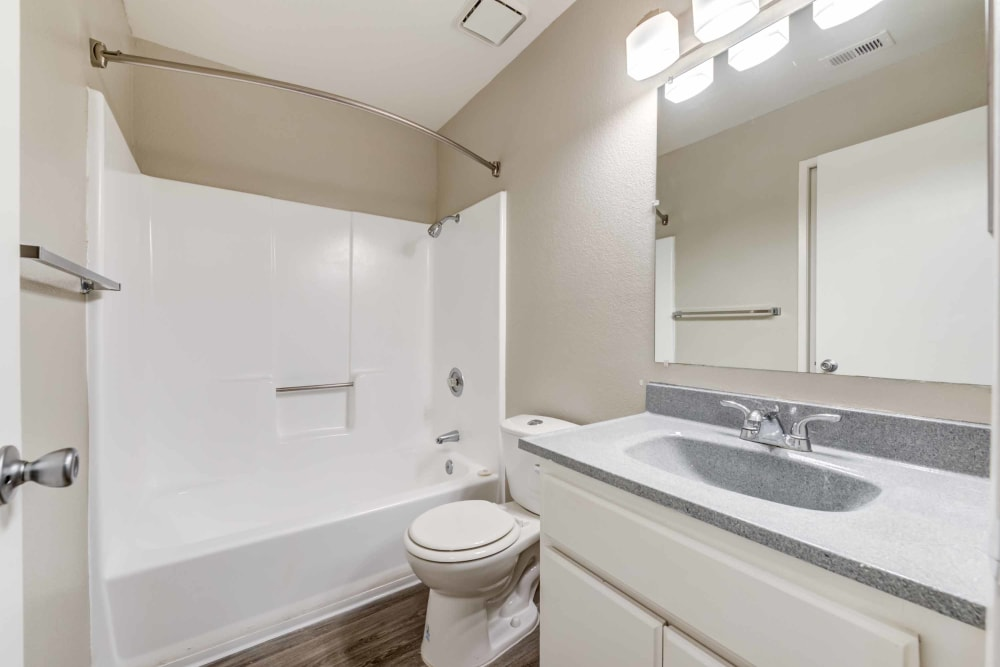 Bathroom at Sienna Heights Apartment Homes