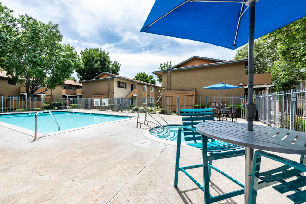 Pool offered at Sienna Heights Apartment Homes