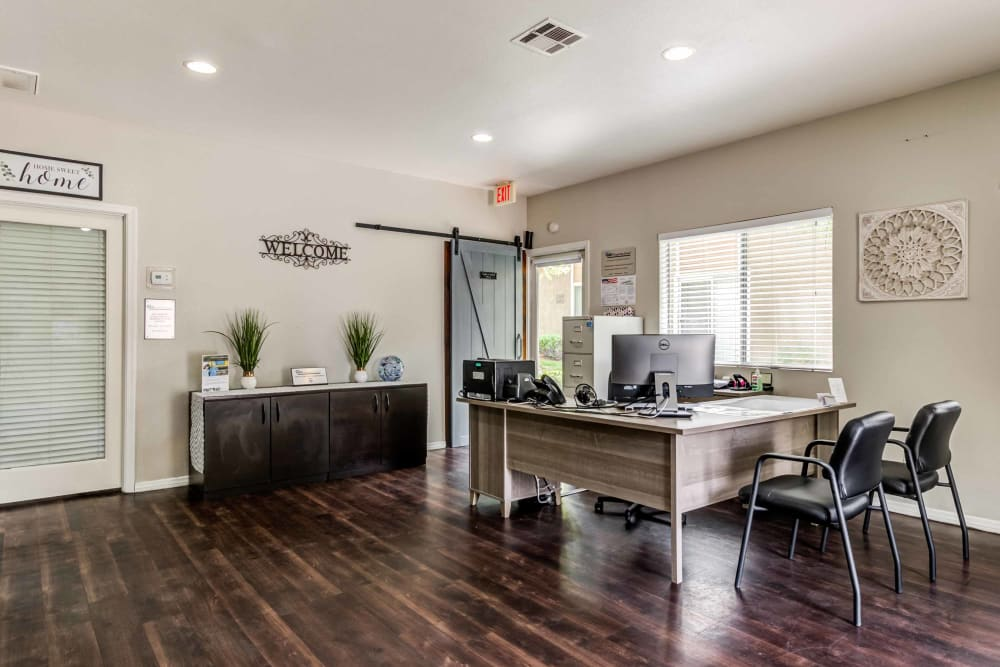 Leasing center at Sienna Heights Apartment Homes