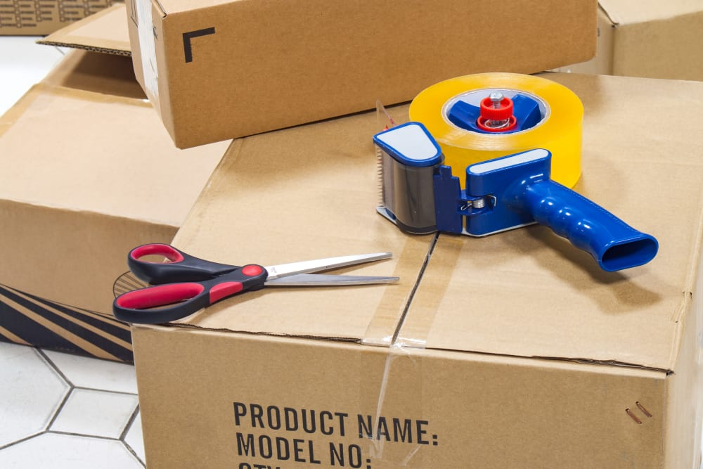 Packing supplies available for purchase at Aiken, South Carolina near Storage Units