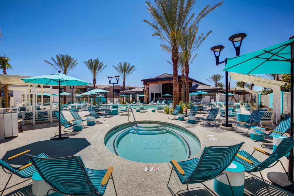 Our Apartments in Las Vegas, Nevada offer a Pool & Hot Tub