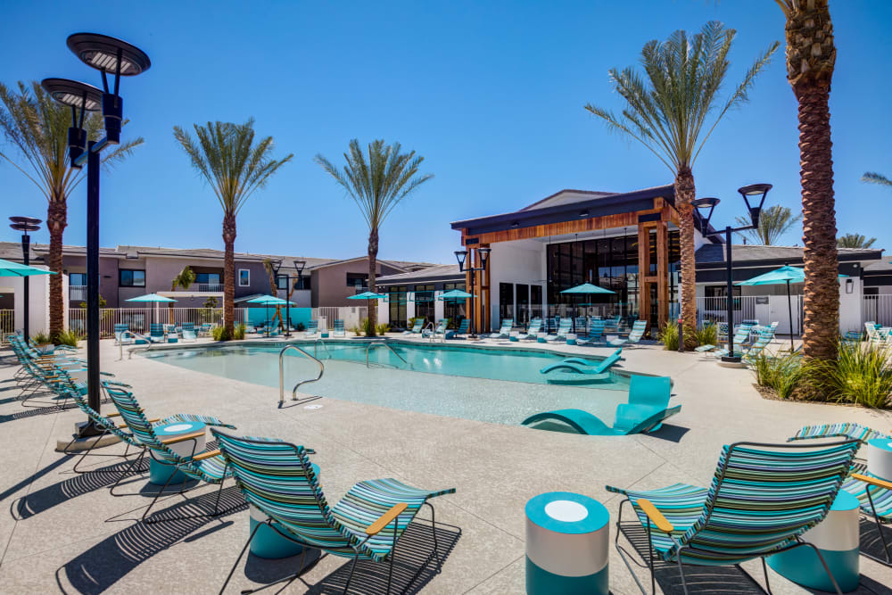 Enjoy Apartments with a Swimming Pool at SUR702 in Las Vegas, Nevada