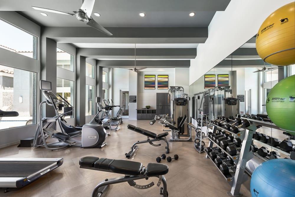 Onsite fitness center at Avenue 25 Apartments in Phoenix, Arizona