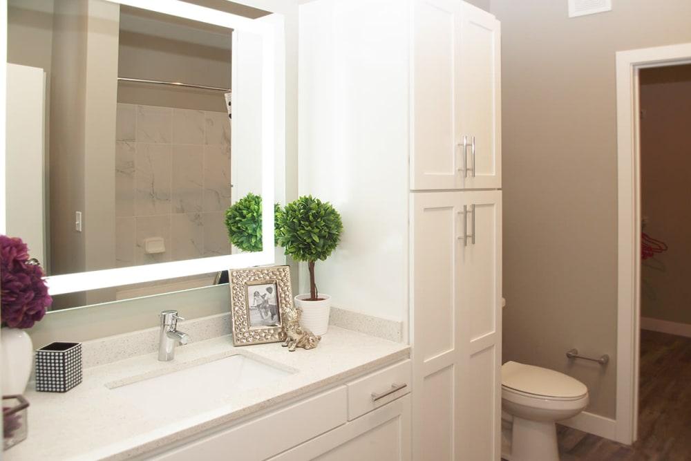 Beautiful Bathroom at Apartments in Louisville, Kentucky