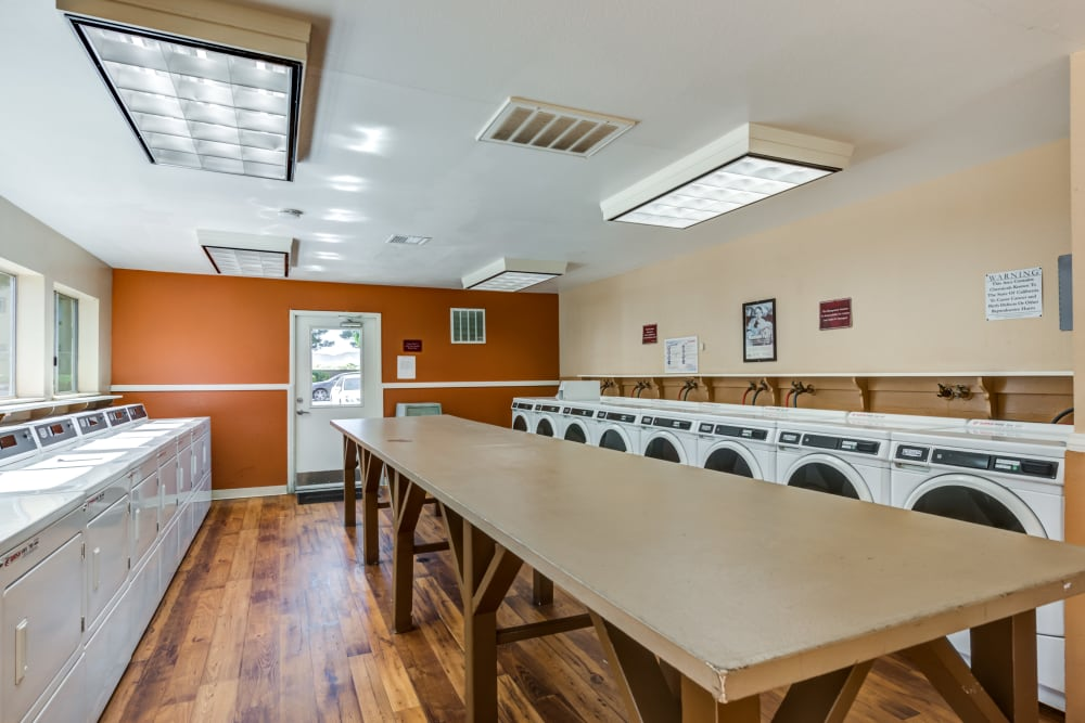 Laundry Facility at Granada Villas Apartment Homes in Lancaster, California