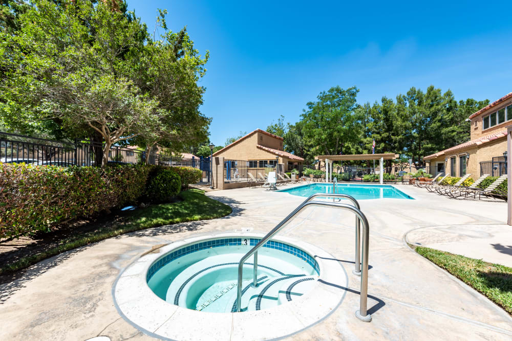 Our Apartments in Lancaster, California offer a hot tub