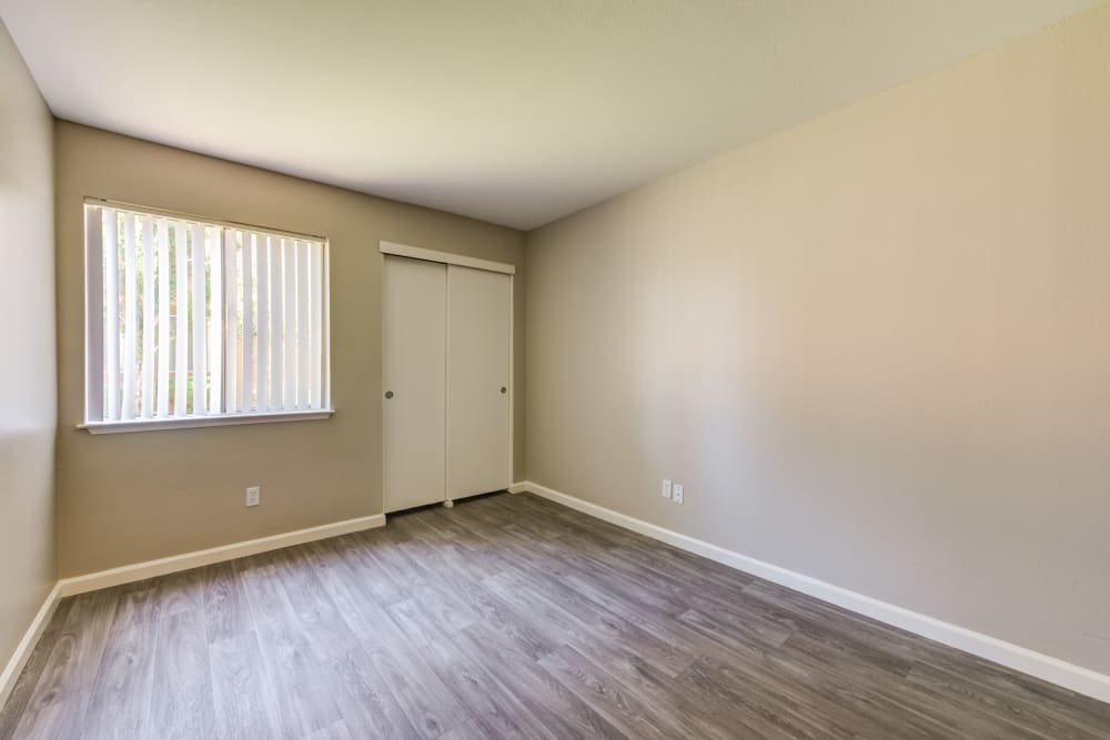 Bedroom at Apartments in Lancaster, California