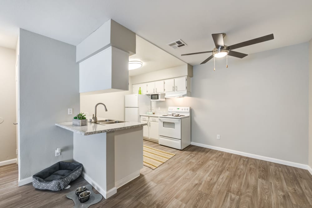 Our Apartments in Lancaster, California offer a Kitchen