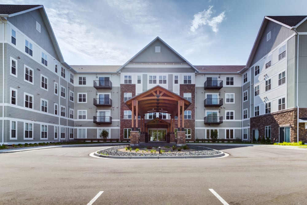 Exterior of Talamore Senior Living in St. Cloud, Minnesota