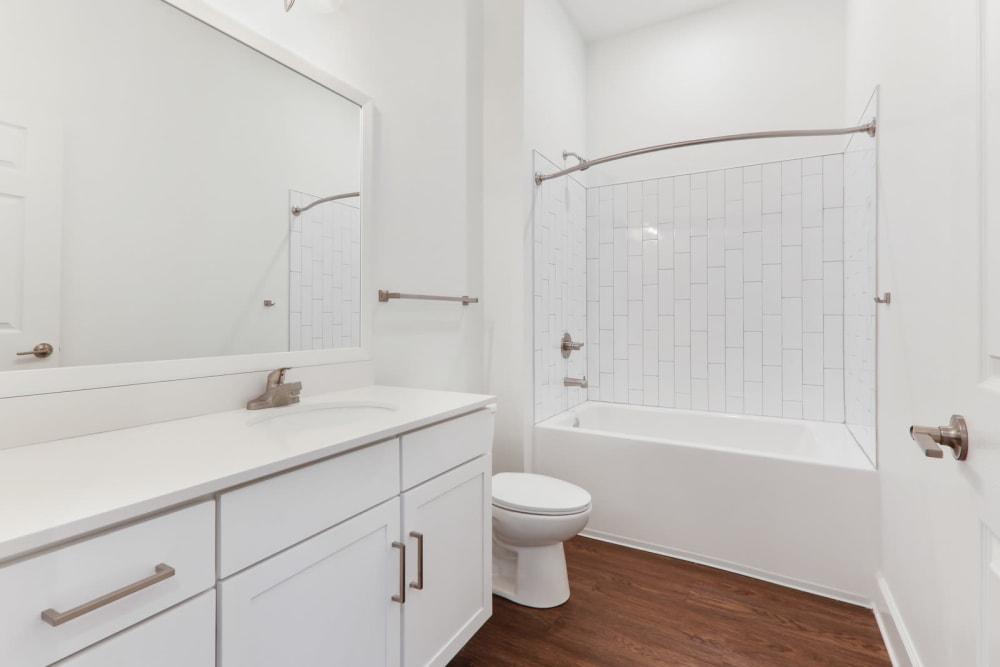 Spacious bathroom at Arcadia Decatur, GA