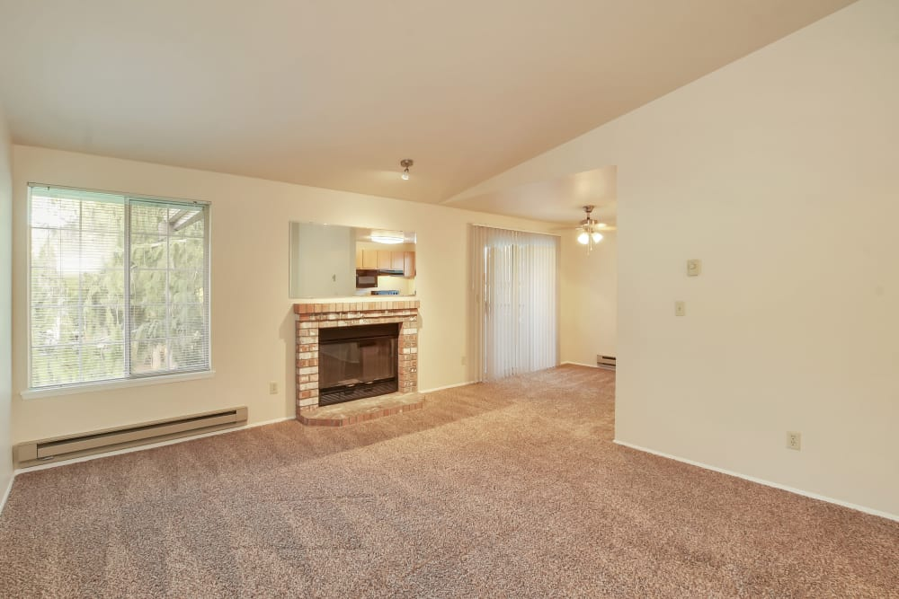 Living Room at Apartments in Olympia, Washington