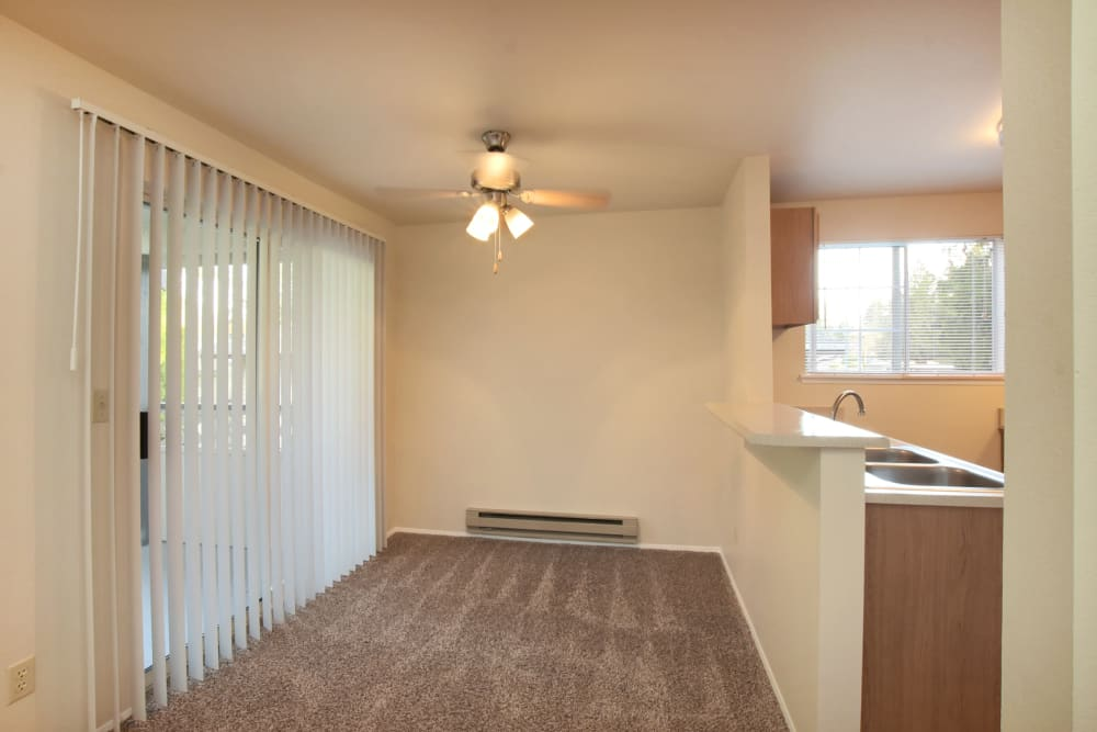 Dining Nook at Arbor Square Apartments in Olympia, Washington