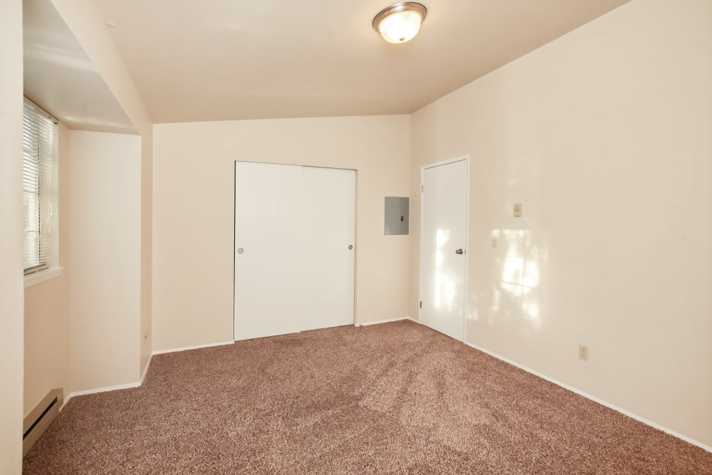 Bedroom at Arbor Square Apartments in Olympia, Washington
