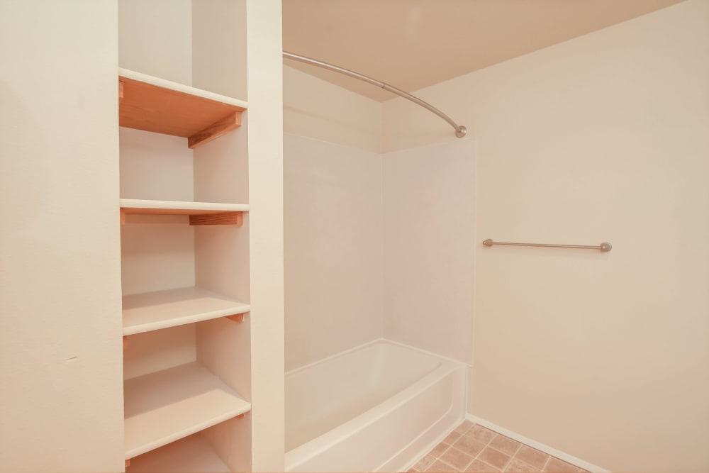 Bathroom at Arbor Square Apartments in Olympia, Washington