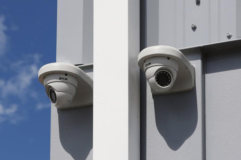 Security cameras at Midgard Self Storage