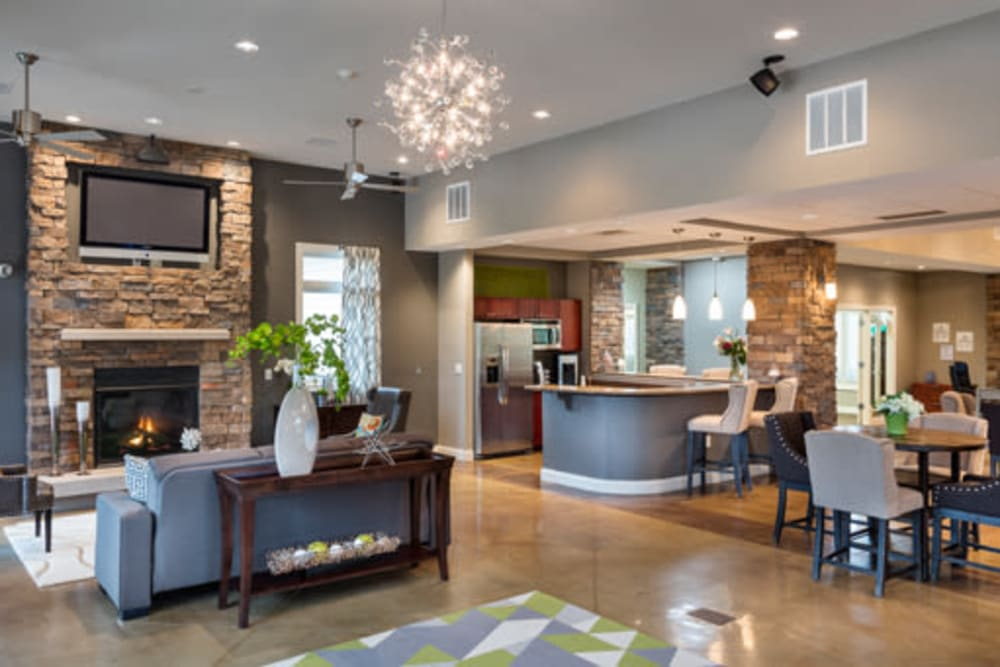 The Fairways Apartment Homes offers a luxury living space in Lee's Summit, Missouri