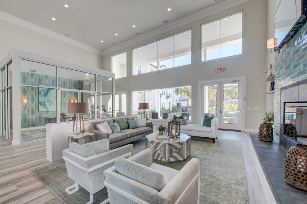 Leasing Office at Ingleside Apartments in North Charleston, South Carolina