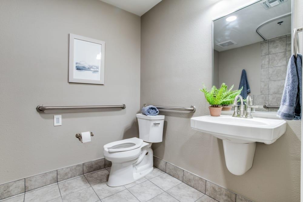resident bathroom