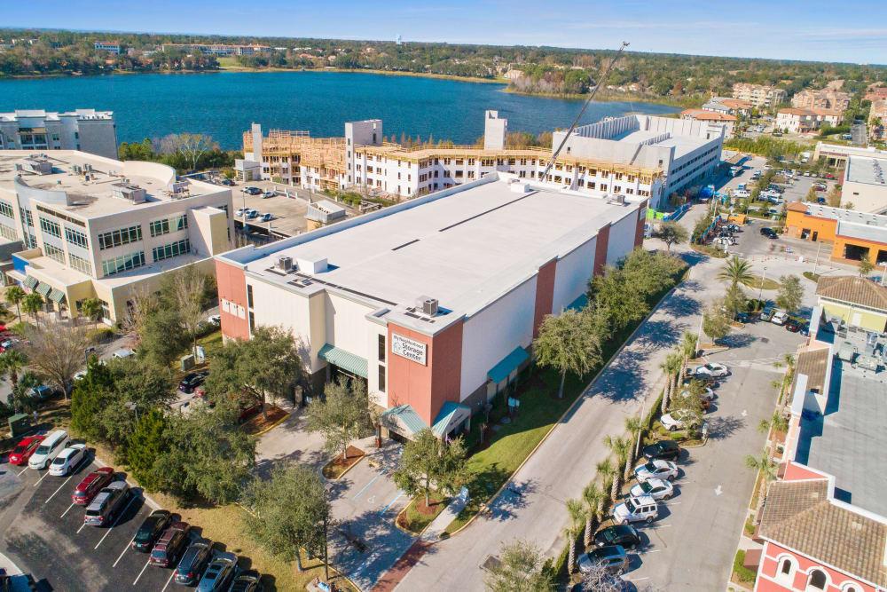 Aerial view of My Neighborhood Storage Center in Orlando, Florida