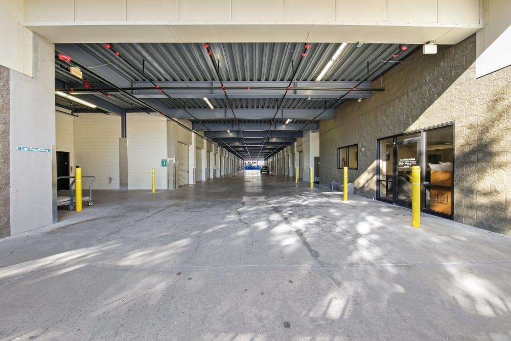 Large driveways through My Neighborhood Storage Center in Orlando, Florida