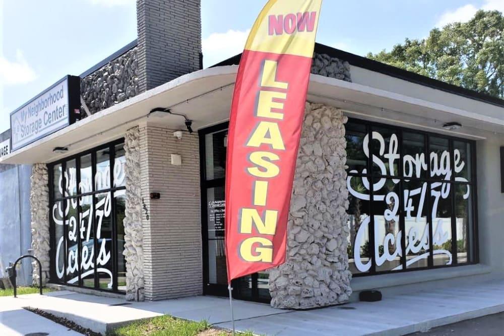 Leasing office of My Neighborhood Storage Center in Jacksonville, Florida