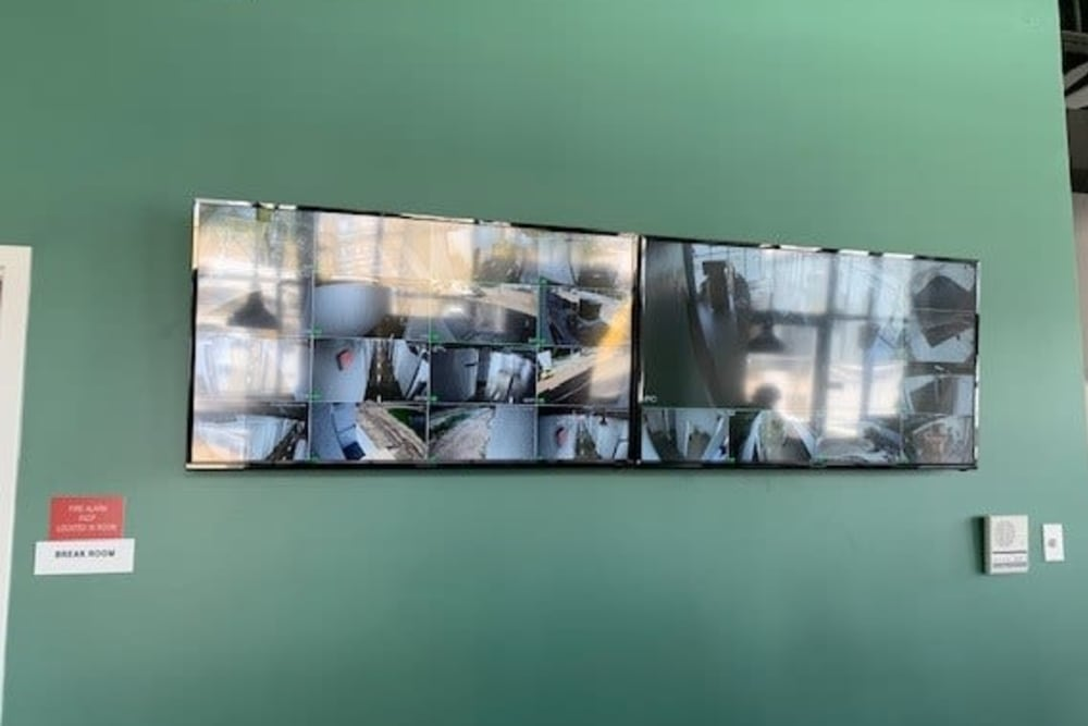 Video surveillance at My Neighborhood Storage Center in Jacksonville, Florida