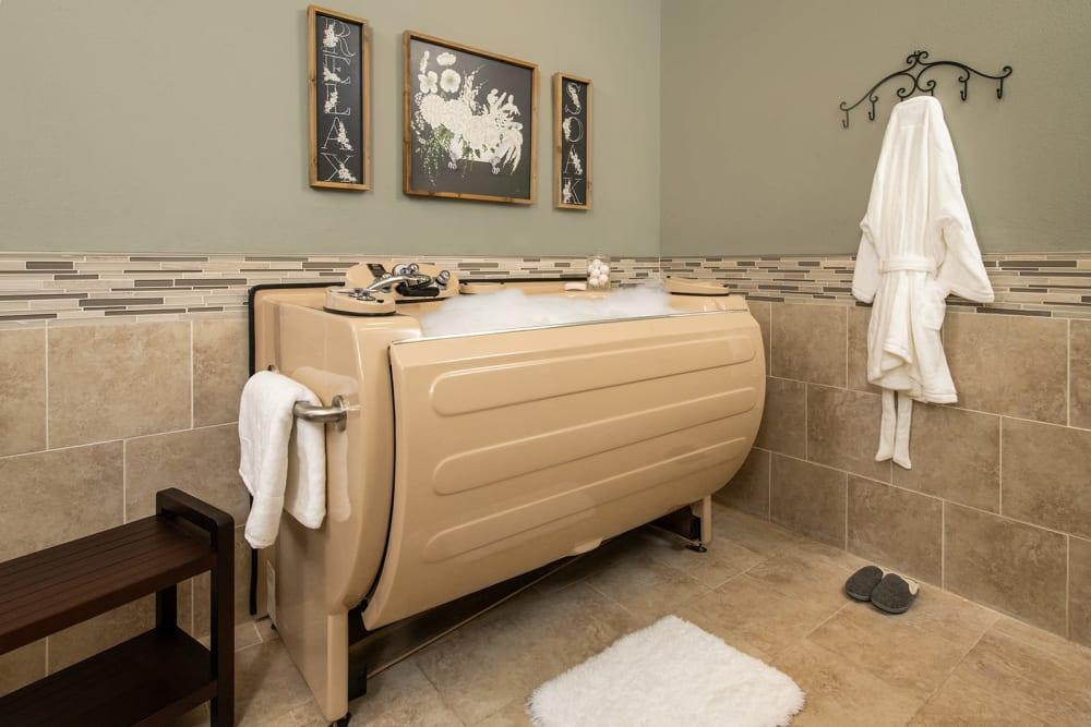 Spa Bath at Willow Creek Memory Care at Lee's Summit