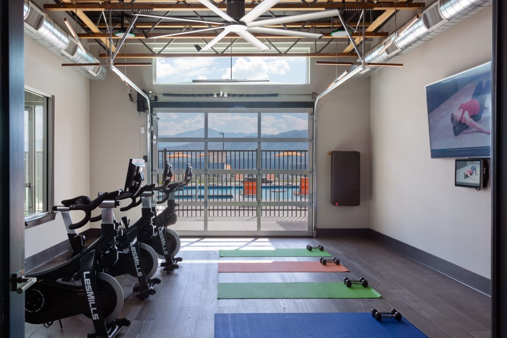 Fitness Center at FalconView