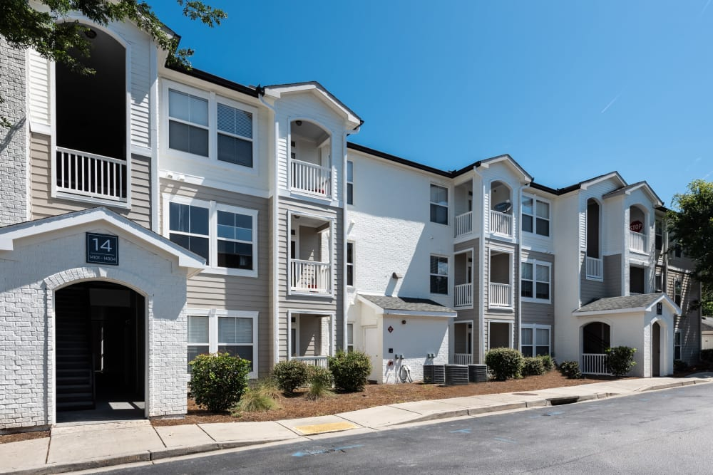 Complex View at Ingleside Apartments in North Charleston, South Carolina
