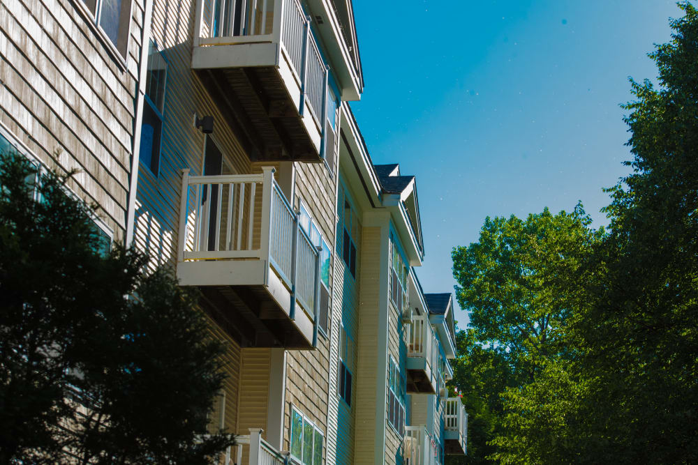 Balcony at Harbor Village Senior Communities in South Burlington, Vermont