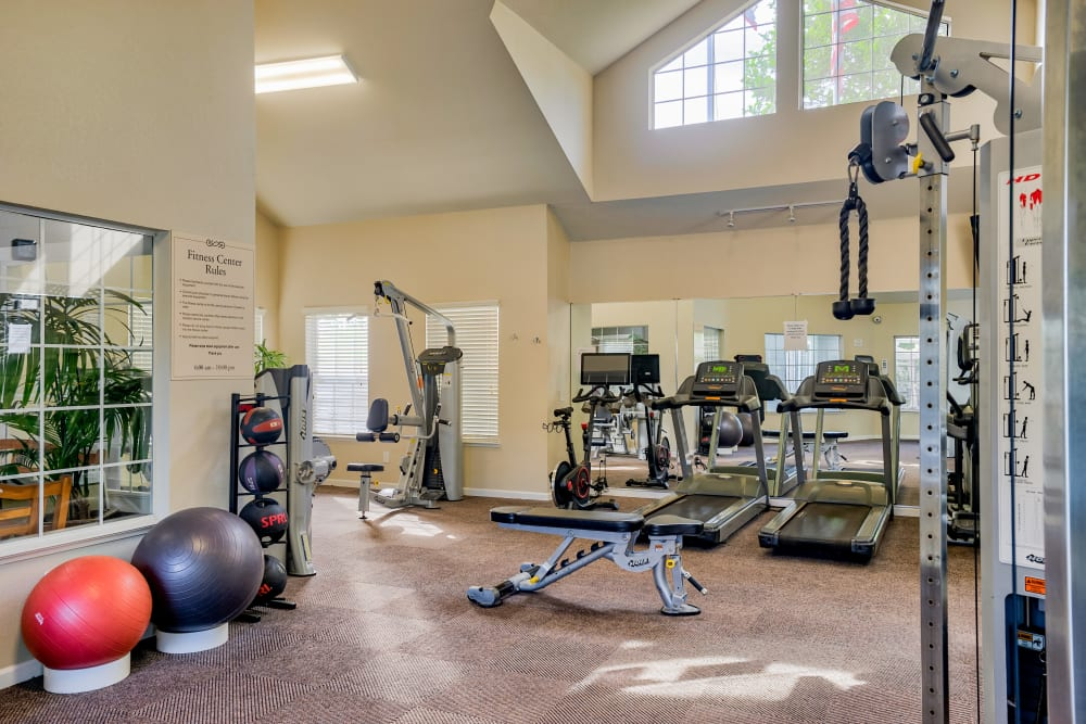 Fitness center at The Villages